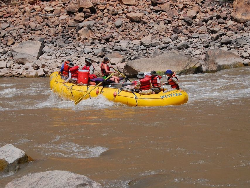 Whitewater Rafting in Moab, Utah